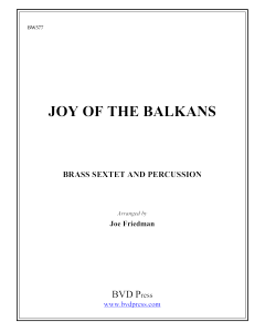 Joy of the Balkans