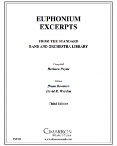 Euphonium Excerpts from the Standard Band and Orchestral Library