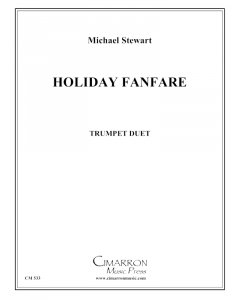 Holiday Fanfare for Two Trumpets
