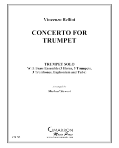 Concerto for Trumpet and brass ensemble - Bellini