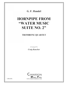 """Hornpipe, from """"Water Music"""""""