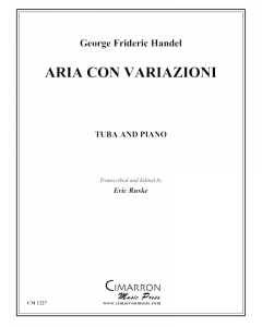 Aria con Variazioni, from the Fifth Harpsichord Suite