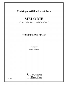 """Melodie"" from Orpheus and Euridice"
