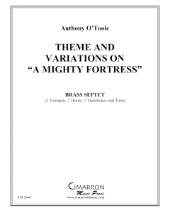 """Theme and Variation on """"A Mighty Fortress"""""""