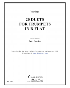 20 Duets for Trumpets