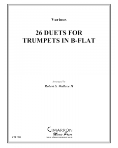 26 Duets for Trumpet in B-flat