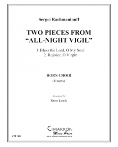 """Two Pieces from """"All-Night Vigil"""""""