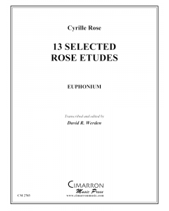 13 Selected Rose Etudes