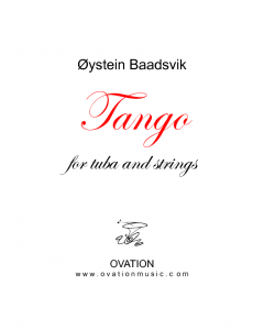Baadsvik - Tango for tuba and strings