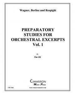 Preparatory Studies for Orchestral Excerpts, vol. 1