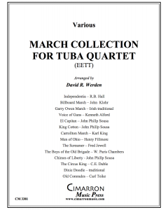 March Collection for Tuba Quartet