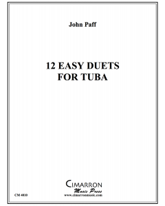 12 Easy Duets for Tuba