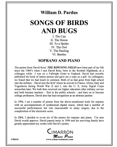 Six Songs of Birds and Bugs