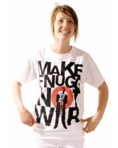 T-shirt - Make Fnugg Not War