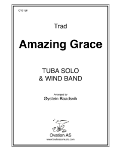 Amazing Grace (tuba and wind band)