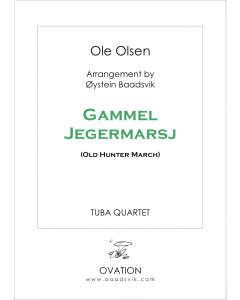 Gammel Jegermarsj (Old Hunter March) (tuba quartet)