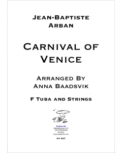 Carnival of Venice (version for F tuba)