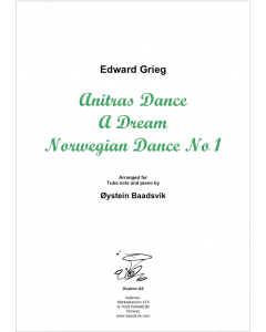 Grieg Collection (Anitras Dance-A Dream-Norwegian Dance nr1) (tuba and piano)