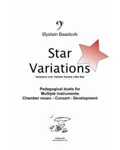 Star Variations (treble clef in Bb low)