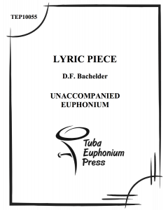 Lyric Piece for Euphonium
