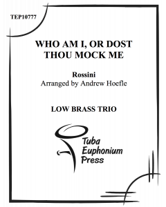 Who Am I, or Dost Thous Mock Me