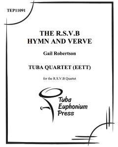 The R.S.V.B Hymn and Verve