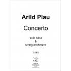 Concerto for Tuba and Strings - Plau (movement 2 ONLY)